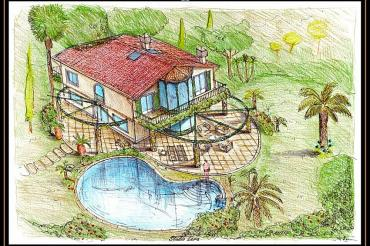 Villa Bouganville : villa project for sale  Marina di Pietrasanta
