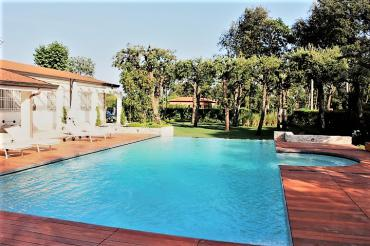 Beautiful villa with swimming pool, Roma Imperiale area, Forte dei Marmi