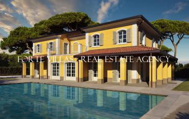 Villa for sale and rent in Forte dei Marmi