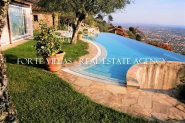Beautiful villa with guest house for rent in Forte dei Marmi